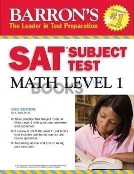 Barrons SAT Subject Test Math Level 1 2th Edition