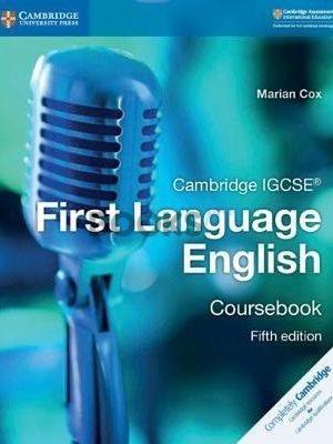 Cambridge IGCSE First Language English Coursebook 5th Edition