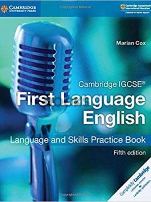 Cambridge IGCSE First Language English Language And Skills Practice Book 5th Edition