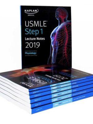 Kaplan USMLE Step 1 2019 Lecture Notes 7 Books Set