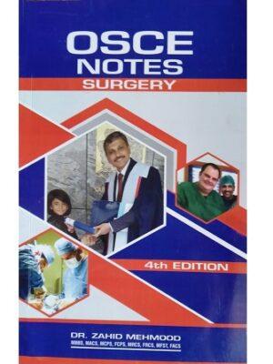 OSCE Notes Surgery Zahid Mehmood 4th Edition