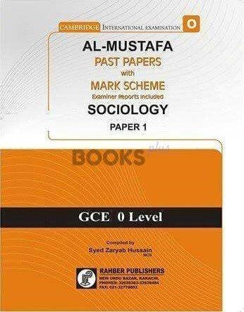 Al Mustafa O Level Sociology P1 Unsolved Upto June 2018