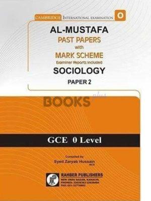 Al Mustafa O Level Sociology P2 Unsolved Upto June 2018