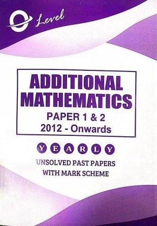 O Level Add Math P1 P2