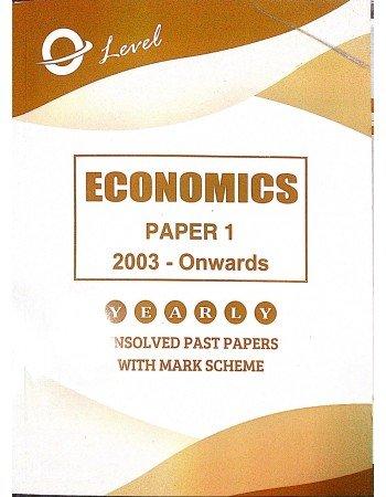 O Level Economics P1 Unsolved Upto 2020