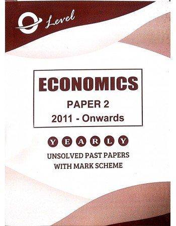 O Level Economics P2 Unsolved upto 2020