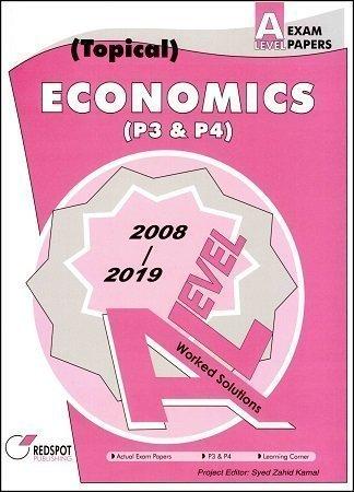 Redspot A Level Economics P3 P4 Topical 2020 Edition