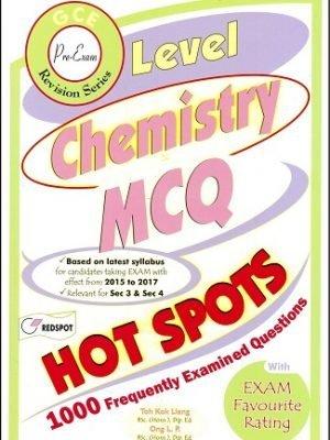 Redspot O Level Chemistry 1000 MCQ Hot Spots
