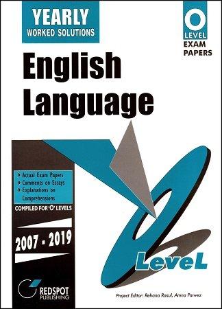 Redspot O Level English Language Yearly 2020 Edition