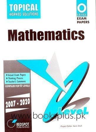 Redspot O Level Pure Math Topical 2021 Edition