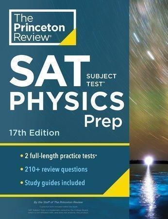 New Princeton Review SAT physics