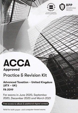 BPP ACCA Advanced Taxation ATX P6 FA2019 kit 2020 2021