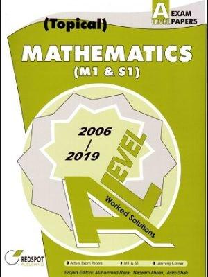 Redspot A Level Mathematics M1 S1 Topical 2020 Edition