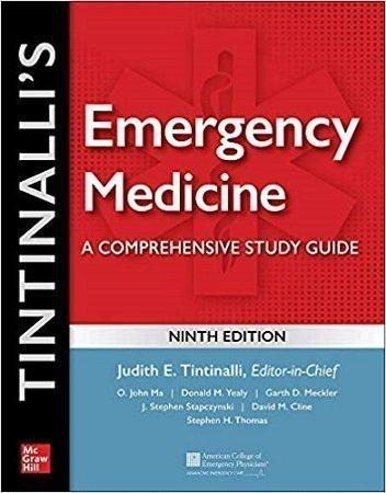 Tintinalli Emergency Medicine A Comprehensive Study Guide 9th Edition