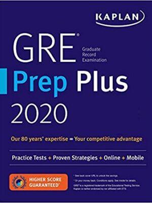 kaplan GRE prep plus 2020