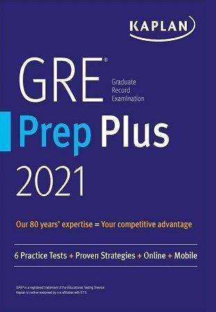 Kaplan GRE Prep Plus 2021