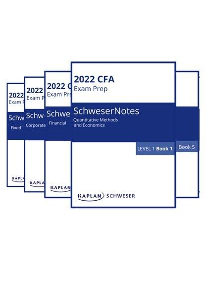 kaplan schweser cfa level 1 2022