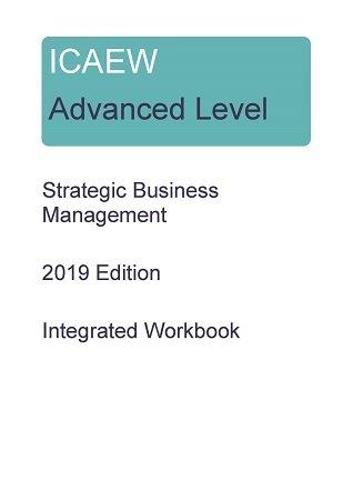 ICAEW Stretegic Business Management SBM workbook