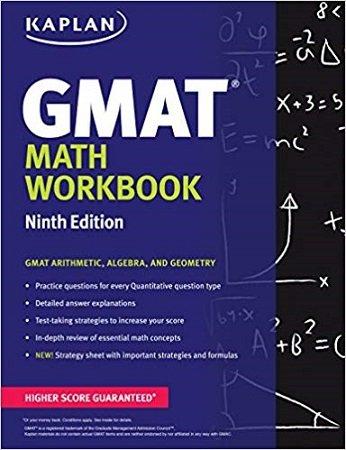 Kaplan GMAT Math Workbook 9th Edition
