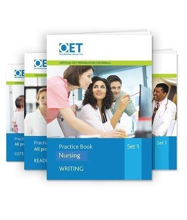 Official OET Practice Books Set For Nursing