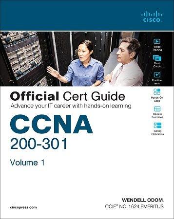 CCNA 200 301 Official Cert Guide Wendell Odom Volume 1