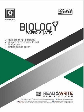 Biology O Level Paper-6 ATP Topical Workbook Art 204