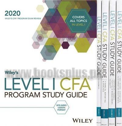 wiley CFA Level 1 Study guide set 2020