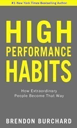 high performance habits brendon