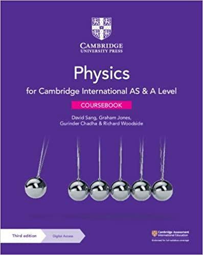Cambridge AS and A Level Physics Coursebook 3rd Edition