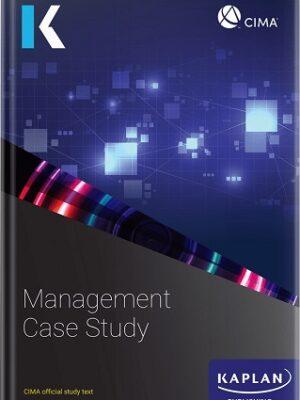 Kaplan CIMA Management Case Study Text