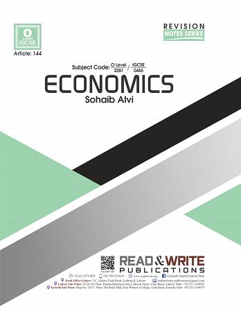 144 O-Level Economics Notes Sohaib Alvi