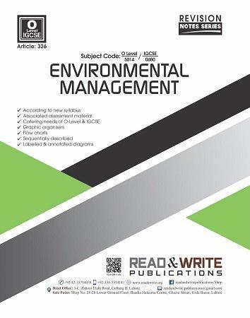 Environmental Management Revision Notes Art 326