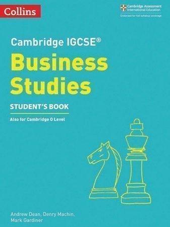 Collins Cambridge IGCSE Business Studies Students Book