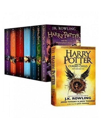 Harry Potter Series 8 Book Set