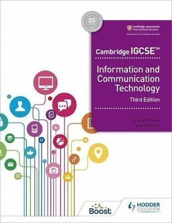 Cambridge IGCSE ICT Hodder 3rd Edition