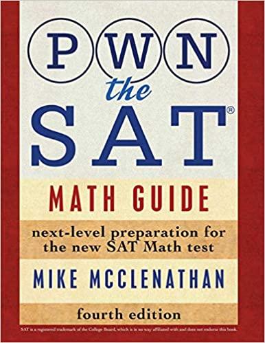 Pwn the SAT math 4th