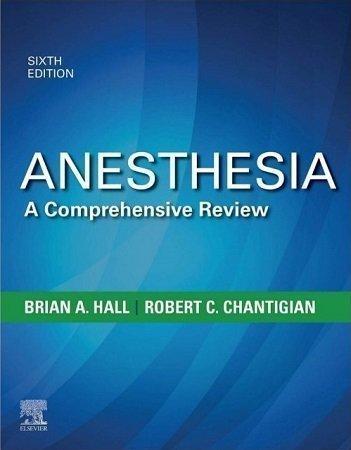 buy anesthesia books brian hall 6th editon