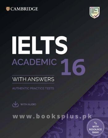 buy Cambridge IELTS 16 Academic in Pakistan