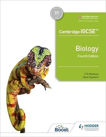 Cambridge IGCSE Biology 4th Edition Hodder