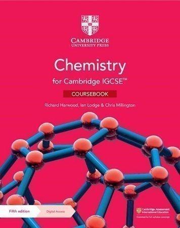 Cambridge IGCSE Chemistry Coursebook 5th Edition 2021