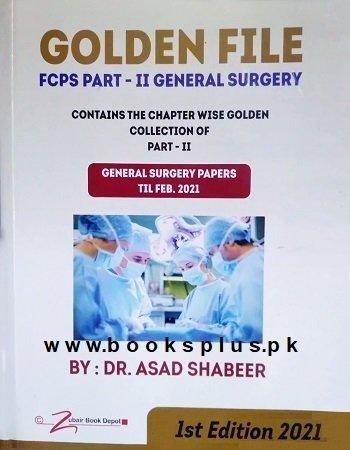 Golden File FCPS Part 2 General Surgery