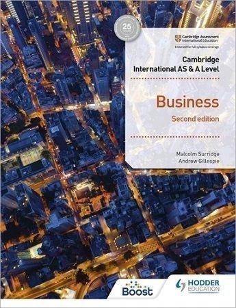 Cambridge International AS A Level Business Hodder 2nd Edition